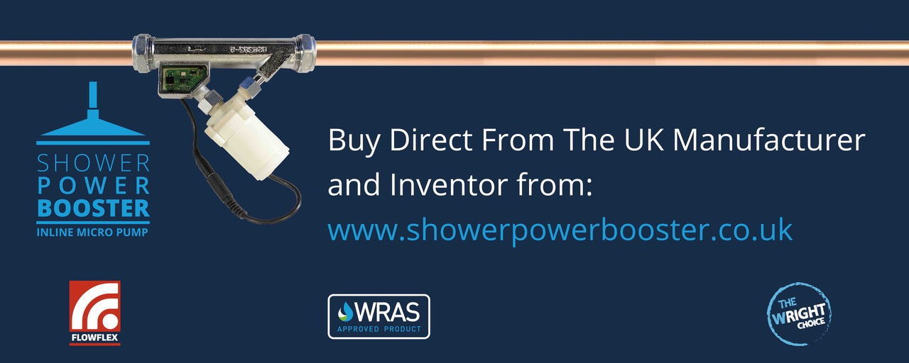 Power Shower Booster for Power Showers - Plumbing Advice